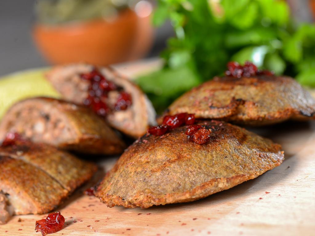 Grilled Sajieh Kibbeh
